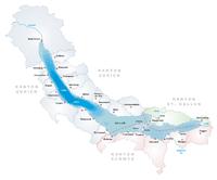 Karte Zürichsee