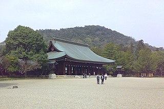 Kashihara, Nara City in Kansai, Japan