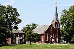 Kaskaskian kirkko