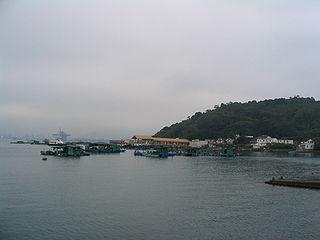 Kat O island in northeast Hong Kong