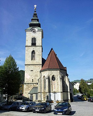 Ternberg - Image: Kath Pfarrkirche hll Peter und Paul 2012 09 10 10 23 41