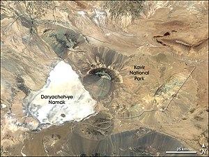 Kavir National Park - Landsat 7 image of Kavir National Park.