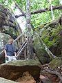 Kbal Spean - 005 Stairway (8583631281).jpg