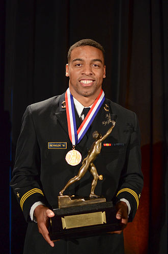 Keenan Reynolds (American football) - Reynolds receiving James E. Sullivan Award in 2016