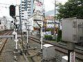 Keihan Korien Station platform - panoramio (26).jpg