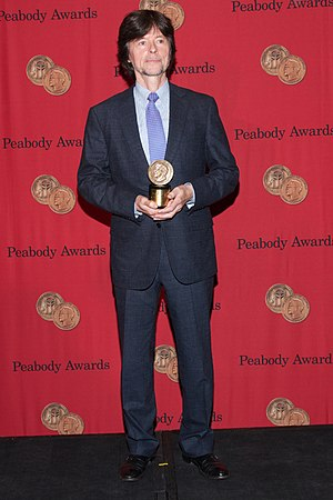 Ken Burns - Burns with the Peabody Award for The Central Park Five in 2014