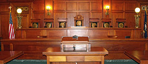 Kentucky Supreme Court - The chamber of the Kentucky Supreme Court