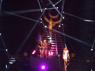 "Pretty Girl Rock - Hilson performing ""Pretty Girl Rock"" on Germany's Next Topmodel"