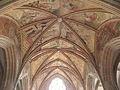 Kernascléden (56) Chapelle Notre-Dame Voûtes du chœur 02.JPG