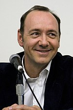 Photo of Kevin Spacey at the 2008 San Diego Comic-Con International.