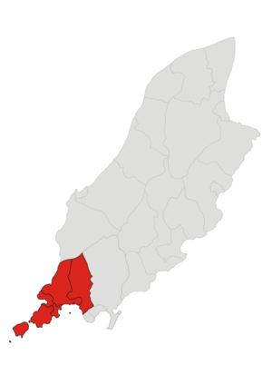 Rushen (constituency) - Image: Keys Rushen