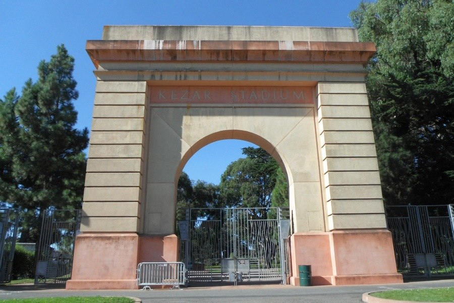 Kezar Stadium Replica Entrance