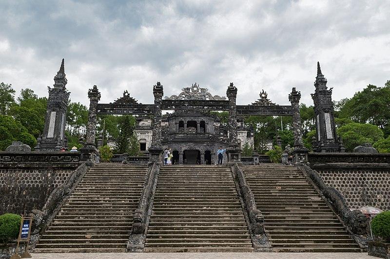 lăng mộ vua Khải Định