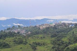 Kigwema Village in North East India, India