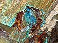 Kilianstollen Kupfer Eisen Mineralisation.jpg