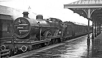 LMS Class 2P 4-4-0 - 40688 at Kilmarnock