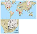 Kimberliti nel mondo.jpg