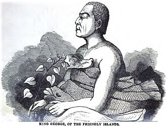 Tonga - King George, of the Friendly Islands (1852)
