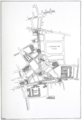 Kingsway and Aldwych - Plan showing new street before removal of buildings - drawn by Mervyn Macartney.png