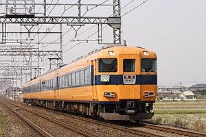 Kyoto Line (Kintetsu) - A limited express train