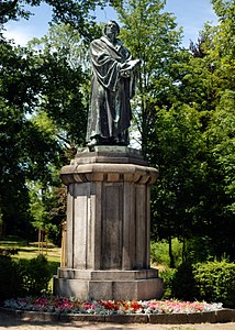 Kirchberg, Saxony - Luther memorial (aka).jpg
