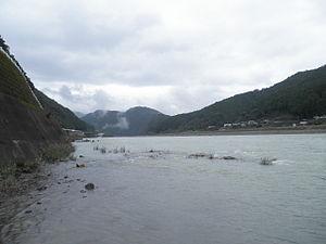 Kiwatown Kobune Kumanocity Miepref kitayama river.jpg