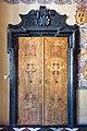 Klagenfurt Landhaus Großer Wappensaal NW-Tür mit Türumrahmung 19042019 6526.jpg