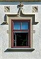 Klagenfurt Viktring Stift Prälatur Straßenseite 2. Stock Erkerfenster 06102020 8237.jpg