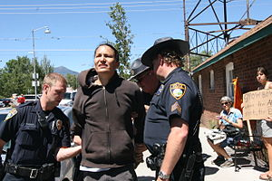 Klee Benally - Klee Benally arrested August 7th, 2012