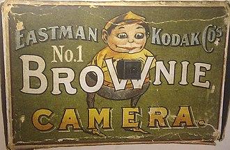 Brownie (camera) - Kodak Brownie advert