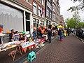 Koningsdag in Amsterdam, Prinsengracht foto 6.JPG
