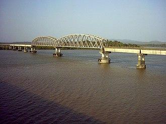 E. Sreedharan - Image: Konkan railway bridge