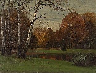 Herbstgold im Park Sanssouci