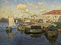 Konstantin Gorbatov - Old Novgorod. Barges.jpg