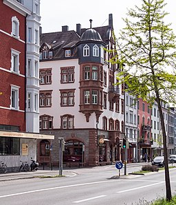 Theodor-Heuss-Straße in Konstanz