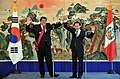 Korea-Peru Summit (November 2009) (4347479215).jpg