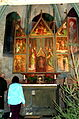 Kostel sv. Jakuba - interiér, Libušino nám., Libiš, okr. Mělník, Středočeský kraj 21.JPG