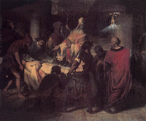 Kovács The Deliverance of St Mark's Corpse 1846