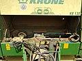 Krone Classic-Line KR 130 baler - presse à balles rondes, France, 2020 (3).jpg