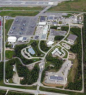 Kulis Air National Guard Base - Image: Kulis ANGB Aerial