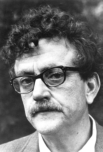 Picture of an author: Kurt Vonnegut