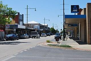 Kyabram Town in Victoria, Australia