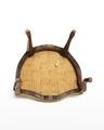Länstol, undersida, 1700-talets mitt - Hallwylska museet - 110082.tif