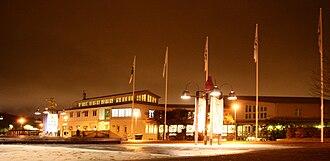 Linköping University - Kårallen building in Linköping.