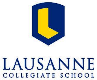 Lausanne Collegiate School - Image: LCS 2Color Flat Vert