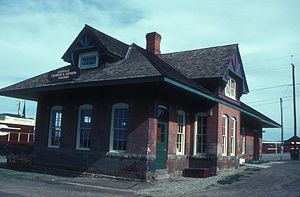Colorado and Southern Railway - Colorado and Southern railway station, Leadville, Colorado