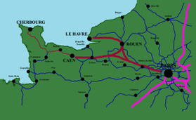 Image illustrative de l'article Ligne nouvelle Paris - Normandie