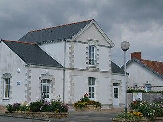 La Marne - The town hall in La Marne
