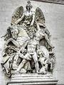 La Résistance de 1814 by Antoine Étex - Arc de Triomphe 01.jpg