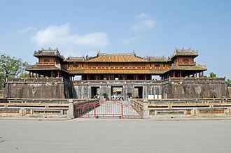 Imperial City, Huế - Image: La porte du midi (Cité impériale, Hué)